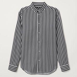 H&M | Striped Blouse